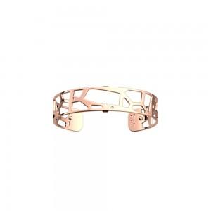 Bracelet Les Georgettes Girafe rosé 14mm