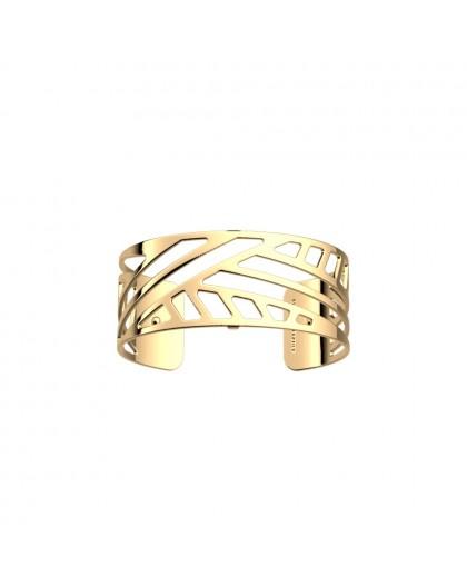 Bracelet Les Georgettes Ruban doré 25mm