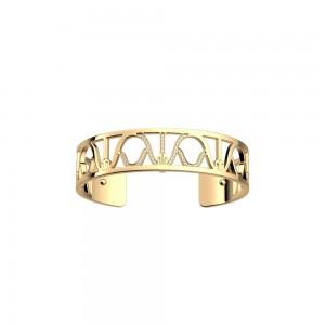 Bracelet Les Georgettes Précieuses Paon 14mm doré