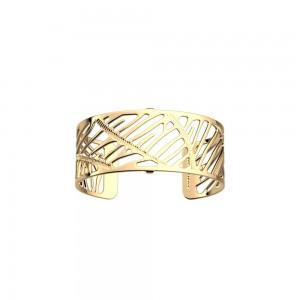 Bracelet Les Georgettes Zebrures 25mm doré