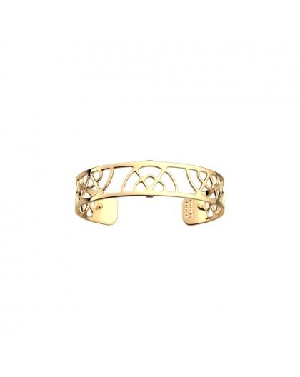 Bracelet Les Georgettes Eventail 14mm doré