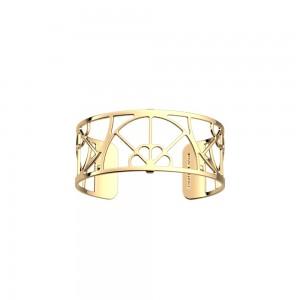 Bracelet Les Georgettes Eventail 25mm doré