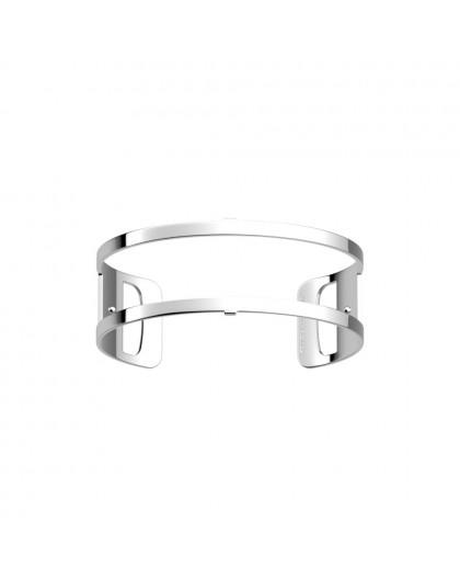 Bracelet Les Georgettes 25mm medium Pure + argenté