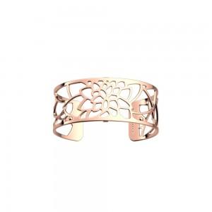 Bracelet Georgettes Nenuphar 25mm finition rosée