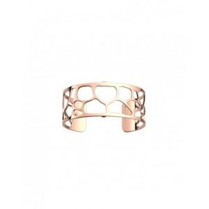 Bracelet Les Georgettes Leopard 25mm rosé