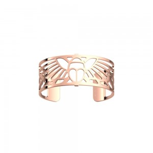 Bracelet Les Georgettes Scarabée rosé 25mm