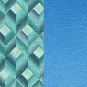 Cuir les Georgettes 40mm Rythme/Bleuet