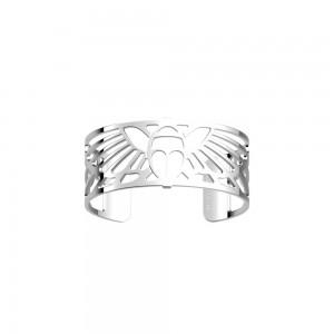 Bracelet Les Georgettes Scarabée argenté 25mm