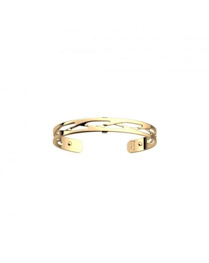 Bracelet Les Georgettes Tresse doré 8mm