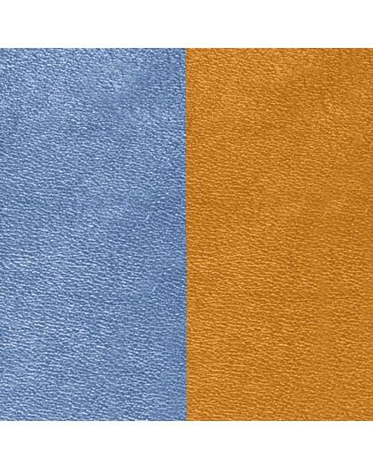 Cuir Les Georgettes 25mm bleu denim/canyon