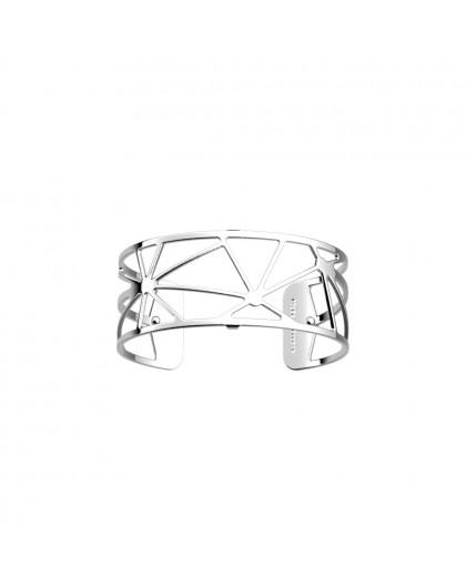 Bracelet Les Georgettes Solaire argenté medium
