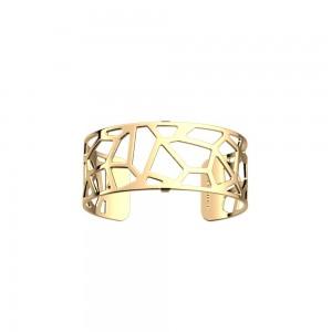 Bracelet Georgettes Girafe 25mm finition or jaune