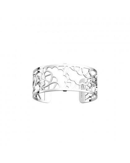 Bracelet Les Georgettes Fleurs Mariage 25mm argent