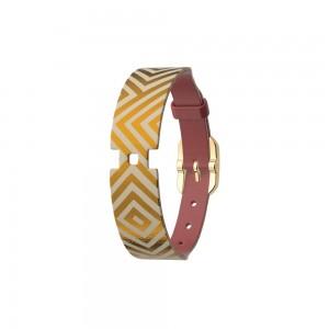 Bracelet montre Georgettes cuir réversible