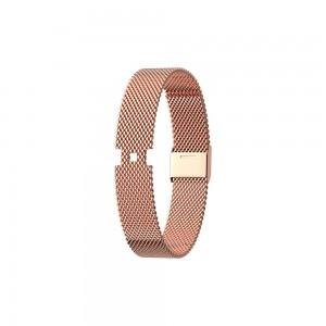 Bracelet montre Les Georgettes mesh rosé