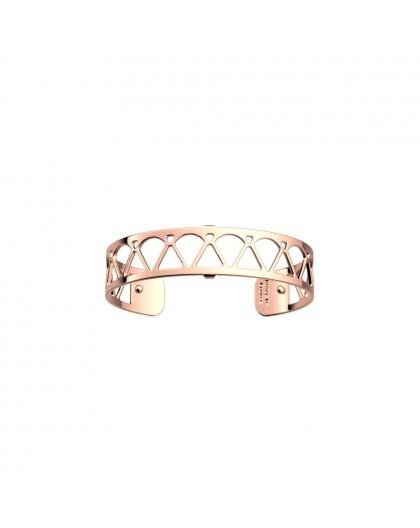 Bracelet Les Georgettes Coeur rosé 14mm