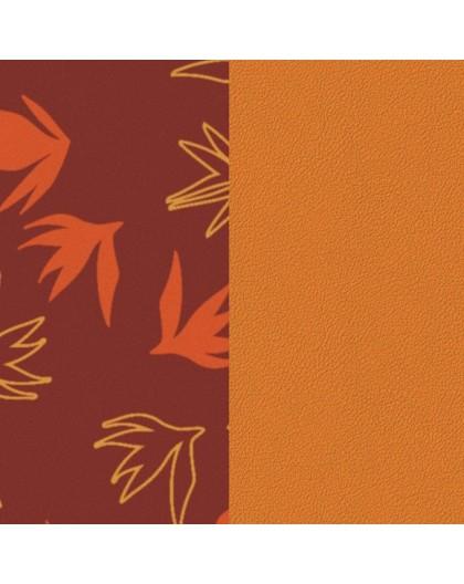 Cuir Georgettes 25mm Medium Dandelion/Abricot