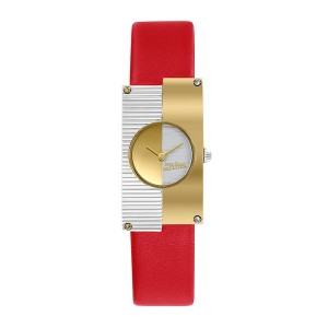 Montre Jean Paul Gaultier 8506504 cuir rouge