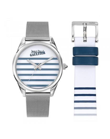 Montre Jean Paul Gaultier 8506705 double bracelet