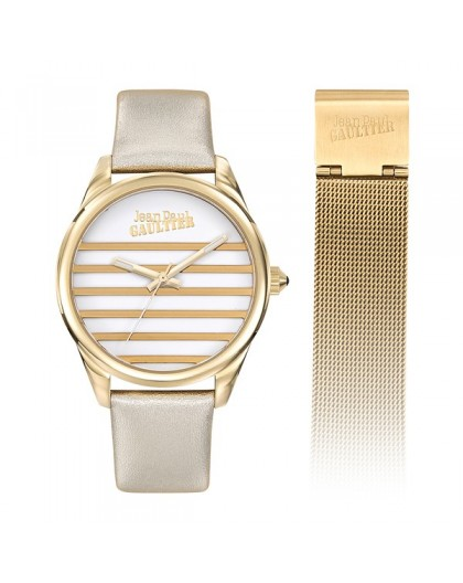 Montre Jean Paul Gaultier 8506707 double bracelet
