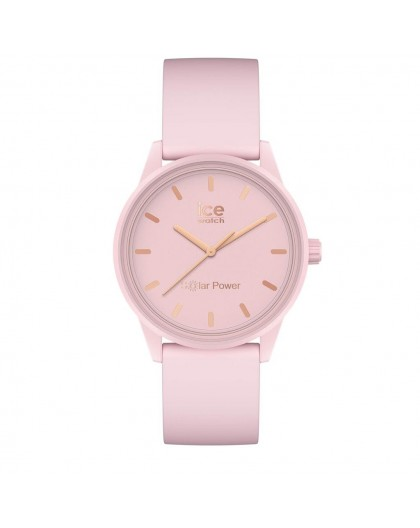 Montre Ice watch solar 018479 Pink lady small