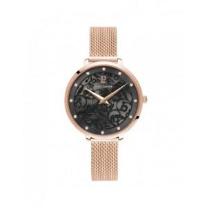 Montre Pierre Lannier Eolia 039L938 rosé fond noir