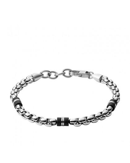 Bracelet Fossil JF03313040 acier homme