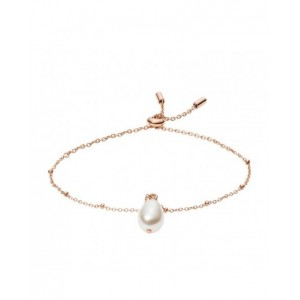 Bracelet Fossil JF03642791 perle rosé