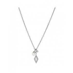 Collier Fossil JF03660040 breloques strass