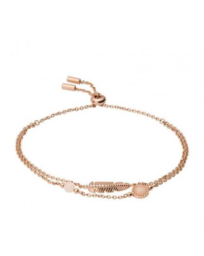 Bracelet Fossil JF03669791 plumes rosé