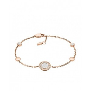 Bracelet Fossil JF03264791 strass rosé