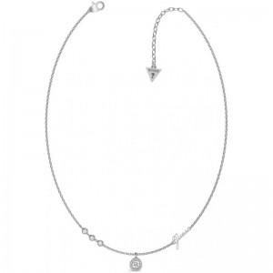 Collier Guess bijoux UBN79022 acier strass
