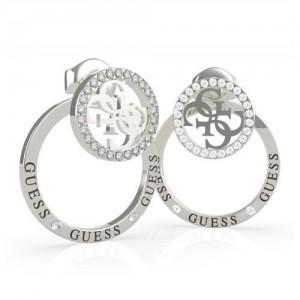 Boucles oreilles Guess bijoux UBE79095 acier