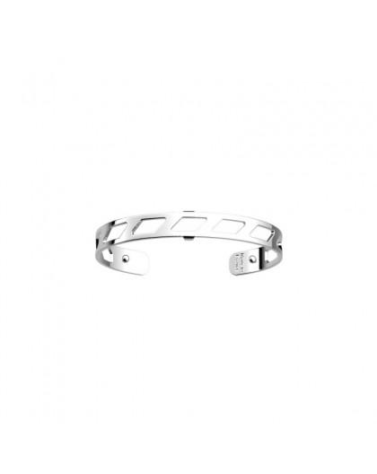Bracelet Les Georgettes Ruban argenté 8mm