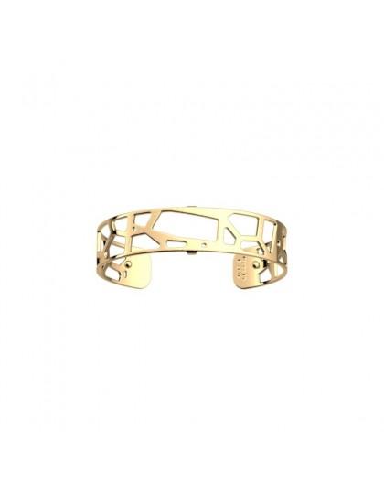 Bracelet Les Georgettes Girafe doré 14mm