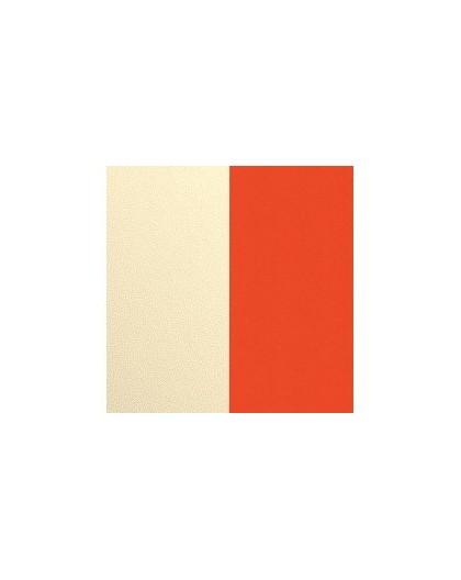 Cuir Les Georgettes 14mm Satin doré/Capucine