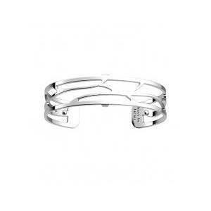 Bracelet Les Georgettes Ecorces argenté 14mm