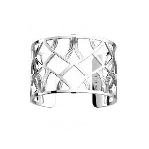 Bracelet Les Georgettes Hibou argenté 40mm