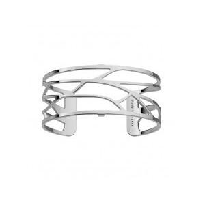 Bracelet Les Georgettes Ecorces argenté 25mm
