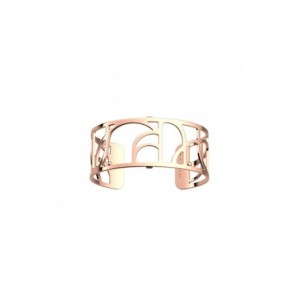 Bracelet Georgettes Volute 25mm finition or rose