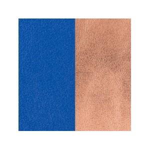 Cuir Les Georgettes 25mm Bleu outremer/Rose siréne