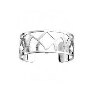Bracelet Les Georgettes Hibou argenté 25mm