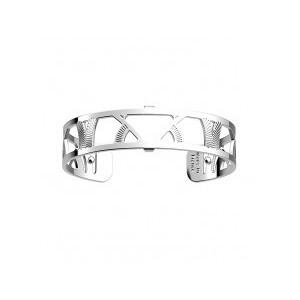 Bracelet Les Georgettes Hibou argenté 14mm