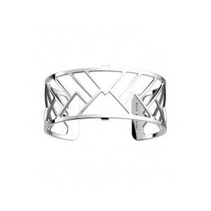 Bracelet Les Georgettes Cime argenté 25mm