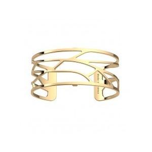 Bracelet Les Georgettes Ecorces doré 25mm