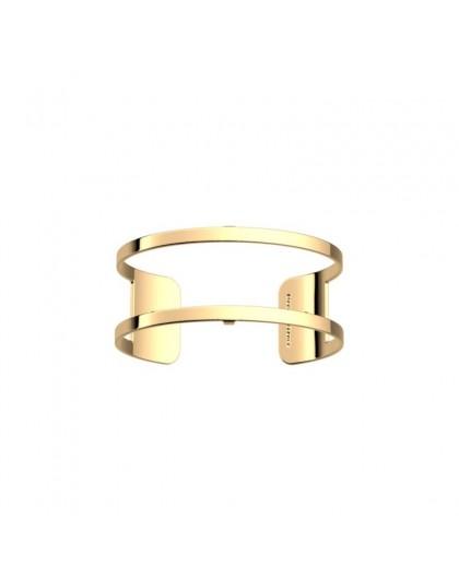 Bracelet Les Georgettes Pure doré 25mm