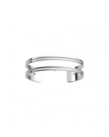 Bracelet Georgette Précieuse Pure 14mm argenté