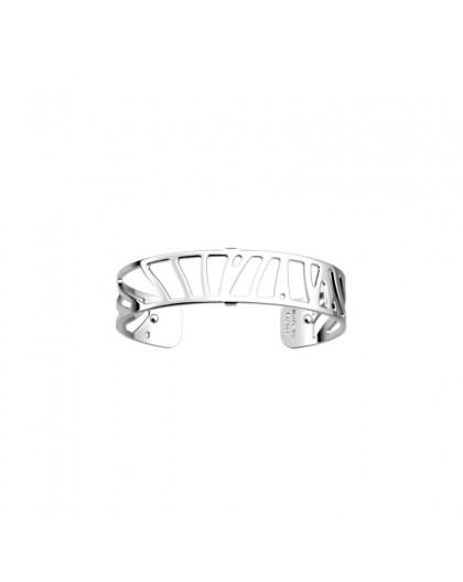 Bracelet Les Georgettes Perroquet 14mm argenté