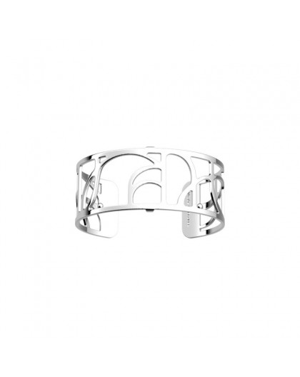 Bracelet Georgettes Arcade 25mm argenté