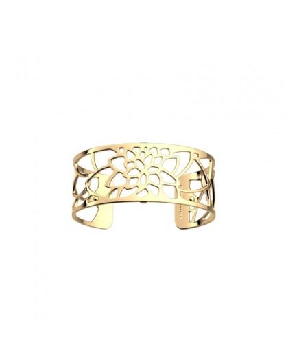 Bracelet Georgettes Nenuphar 25mm finition dorée
